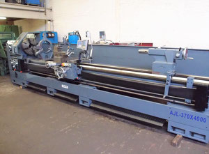 Ajax AJL 370 x 4000mm heavy duty lathe