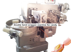 Double twist wrapper machine for Candy -YINRICH TB-N820