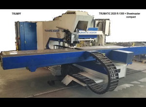 Trumpf TC 2020 R-1300 + FMC CNC Stanzmaschine