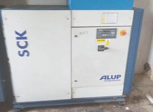 Alup SCK 76-8 Geschmierter schraubenkompressor