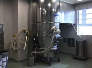 Aeromatic Gea S6 Pharmaceutical granulator with fluid bed dryer