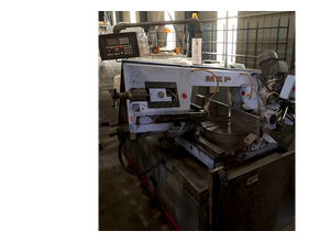 MEP Shark 320 band saw for metal