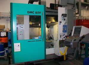 DMG Deckel Maho Guildemeister DMC65V high speed machining center