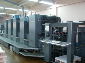 Heidelberg Speedmaster 102-5P3 Offset five colours