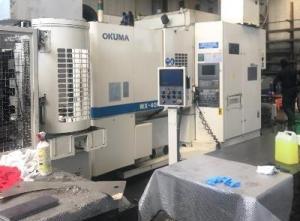 Centro de mecanizado paletizado Okuma MX 40 H