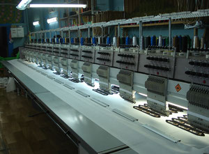ZSK XCF1511 Embroidery machine