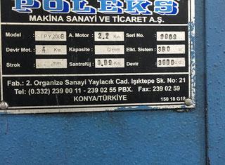 Poleks ( Turkey ) YTU-1300 P90924041