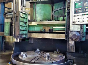 Used Tos Hulin SKJ 20 vertical turret lathe with cnc