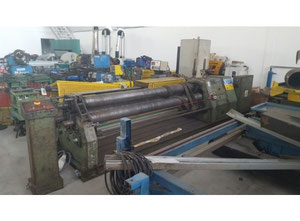 Omcca 2500 X 8 Plate rolling machine
