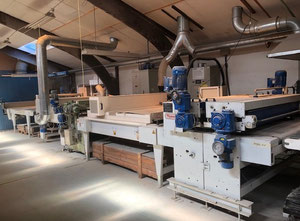 Hymmen UV-line for laquering