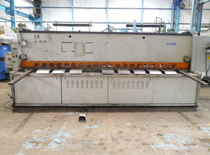 Cisaille guillotine hydraulique LVD 4000x6