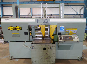 "HYD-MECH H22 AHD 22"" band saw for metal"