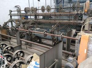 Skrętna prosta cykloniczna maszyna do tkania siatek
