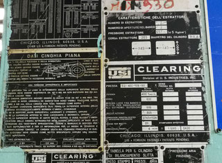 Clearing Innocenti S2 400-108-60 P91004077