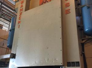 Manzoni Presse 630 ton H-Frame + Feeder Line SARONNI Presse