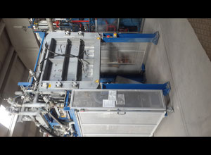 Kurtz  A-Line M Shape moulding machine for the processing of expandable polystyrene