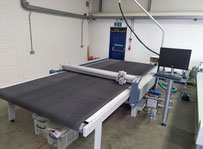 Zund L-2500cv Digital Flatbed Cutter / Automated cutting machine