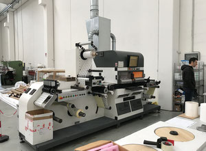 Used Label Master TWIN Sei Laser Converting Die-cutter