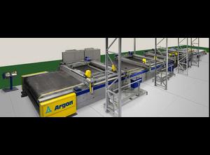 Multicolor - Argon 140 x 300 cm Siebdruckmaschine