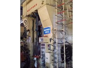 Used Mechanical double toggle clamp press KOMATSU MAYPRESS OKN630-180 metal press