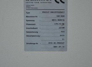 Bullmer PROCUT 1880 Efficiency P91010106