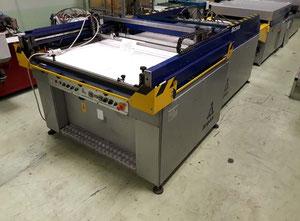 Used automatic 3/4 line Argon 90x120 Screen printing machine
