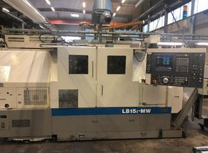 Okuma LB15 II MW Multispindle automatic lathe