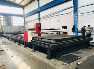 Máquina de corte por plasma / gas Baykal 3000 mm x 16000 mm