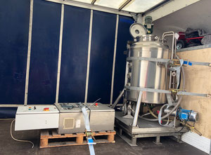 Giusti Process Vessel in 316 stainless steel
