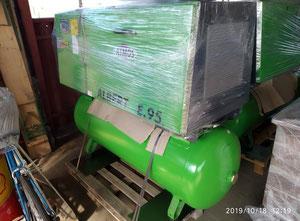 Compresor de tornillo seco Atmos Alber E.95 KVS