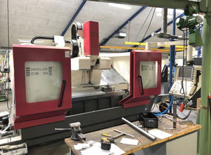 Hedelius CB 50 - 1800 Machining center - vertical