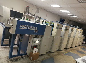KBA PERFORMA 74-5 Offset five colours