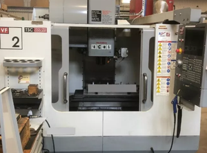 Haas SUPER VF-2DHE cnc vertical milling machine