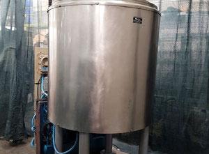 FRATELLI ERBA  MOD.  500 L - Serbatoio dissolutore refrigeratore usato