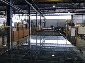 Lisec SNI 022 ESL RS + BTH Glass cutting / edging machine