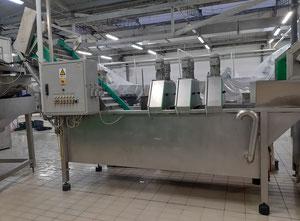 Machine de découpe, lavage et blanchiment de fruits et légumes Niko nv1