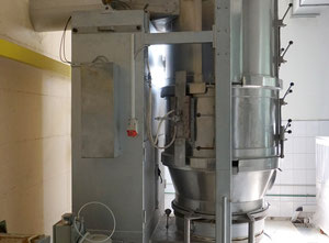 Glatt WSG 120 (1986) Granulating Fluid Bed Dryer Dry