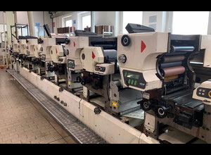 Etiket baskı makinesi Nilpeter MO-3300