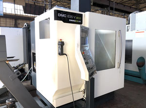 DMG DMC 635V Ecoline cnc vertical milling machine
