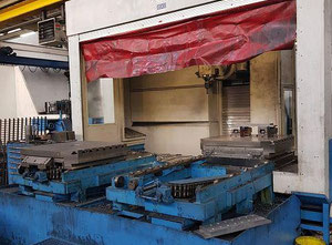 Tos Kuřim FSQ 100 cnc vertical milling machine