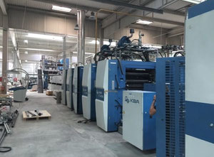 KBA Compacta 215 Web continuous printing press
