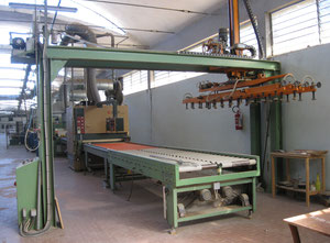 Used Scm, Cefla, Viet  Spraying machine line