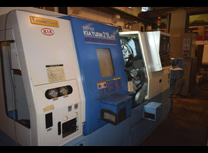 KIA Super Turn 21 LMS cnc lathe