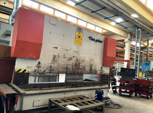 Used Beyeler 4000 x 320 t Press brake cnc/nc