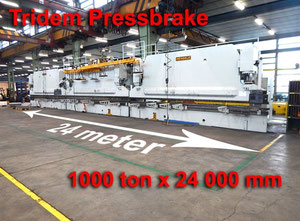 Mengele 1000 ton x 24000 mm CNC Abkantpresse CNC/NC