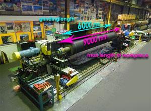 Voith Rollgrinder 2000 x 9000 mm Flachschleifmaschine