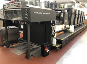 Used Heidelberg SM102FPL Offset five colours