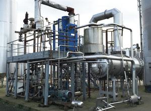 Şarap,bira ve alkol yapım makinası APV Evaporation Plant