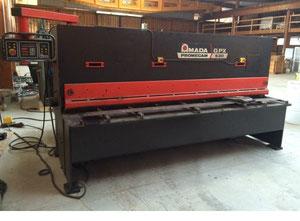 Amada GPX 630 mechanical shear