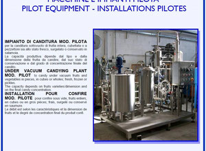 Machine de confiserie VGC CANDIED PILOT  PLANT
